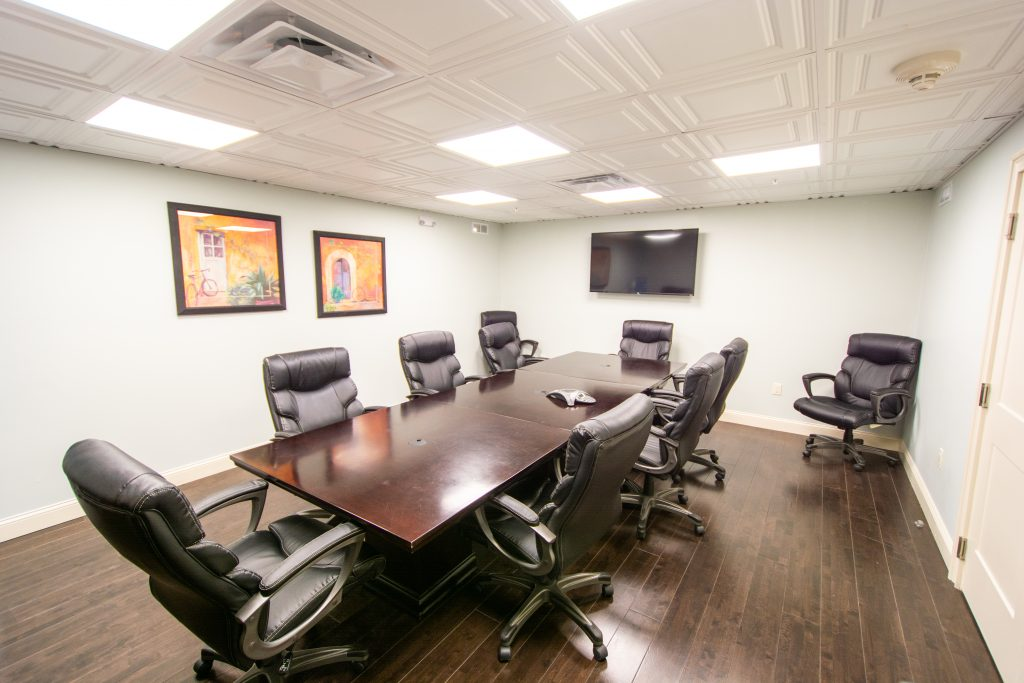 The Conference and Group Therapy Room at TC Clinical Group